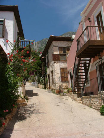 Kalkan Greek Houses