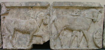 The Horses Relief, 1 - from Xanthos