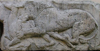 The Lion Relief, from Xanthos